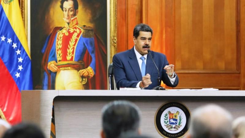 Мадуро отвечает на вопросы