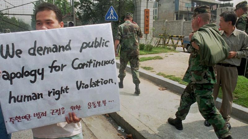 Власти США и Южной Кореи принуждали кореянок к проституции