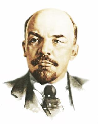 Какого цвета глаза у Ленина?