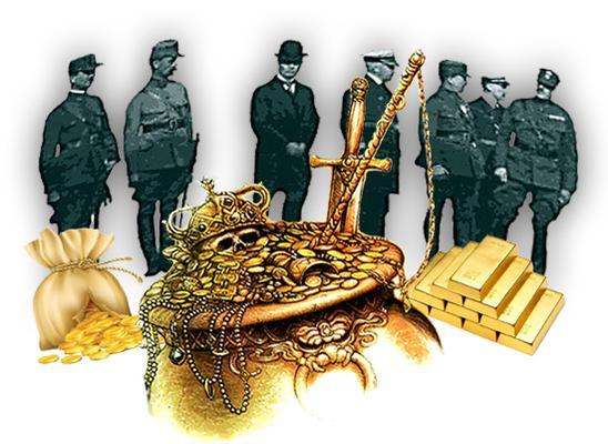 В погоне за золотом России